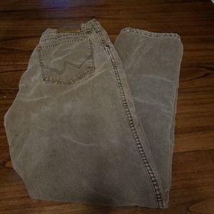 Wrangler Rugged Wear Flannel Lined Grunge Jeans